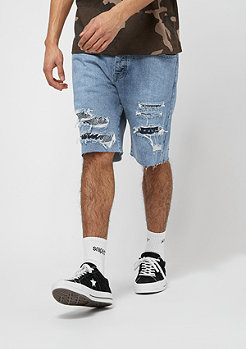 Cayler & Sons ALLDD Paiz Sid Denim Shorts light blue/navy