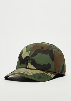 Cayler & Sons C&S PA Cap Small Icon Curved woodland camo/black