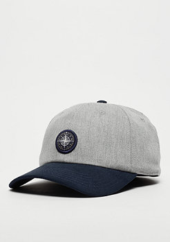 Cayler & Sons C&S CL Cap Navigating Curved heather grey/navy