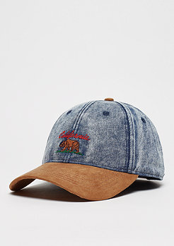 Cayler & Sons C&S WL Cali Vibe Curved Cap denim/cognac