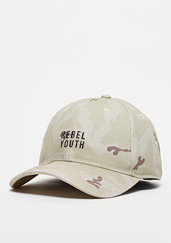 Cayler & Sons CSBL Rebel Youth Curved Cap desert cmo/black