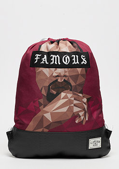 Cayler & Sons C&S WL Drop Out Gymbag maroon/black