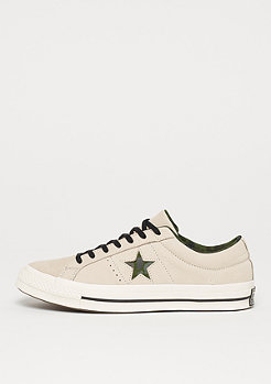 Converse One Star Ox egret/black/herbal