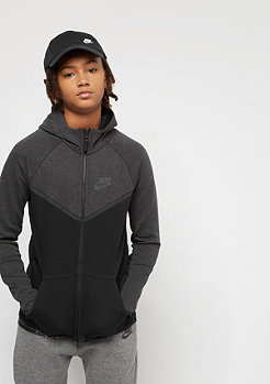NIKE Junior Tech Fleece black heather/anthracite