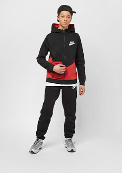 NIKE Junior Core black/university red/white