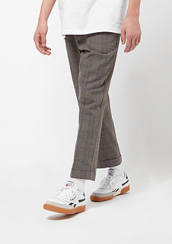 Brixton Regent grey plaid