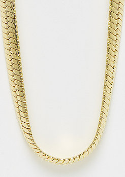 King Ice Thick Herringbone gold