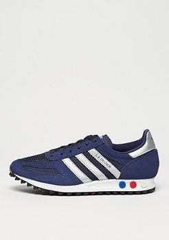 adidas LA Trainer dark blue/metallic silver/dark grey heather