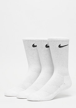 NIKE Performance Cushion Crew Training (3 Pair) white