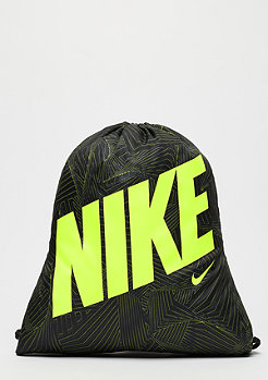 NIKE Graphic Gym black/black/volt