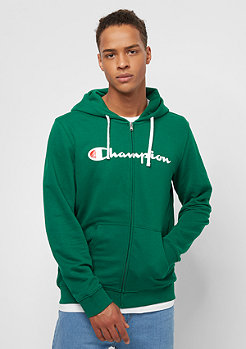Champion Hooded Full Zip green