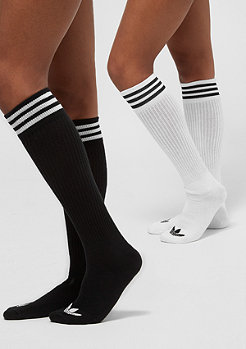 adidas Solid Knee 2PP Color Pack black/white