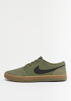 NIKE SB Solarsoft Portmore II medium olive/black/medium olive