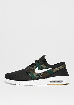 NIKE SB Stefan Janoski Max black/white/medium olive