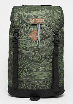 Columbia Sportswear Classic Outdoor mosstone woodgrain print/black/black lining