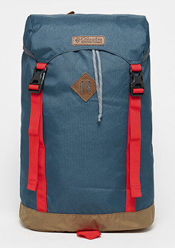 Columbia Sportswear Classic Outdoor whale/red spark/delta/greyash lining