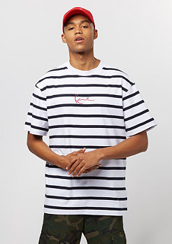 Karl Kani Stripes white/navy