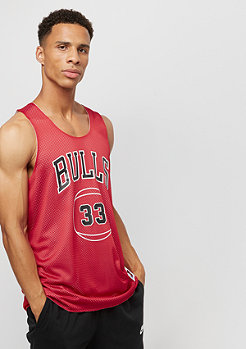 Mitchell & Ness NBA Chicago Bulls Scottie Pippen red/white