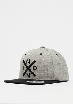 Nixon Exchange heather gray/black