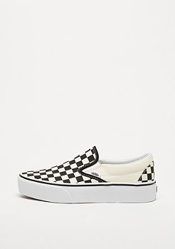 VANS UA Classic Slip-On Platform black and white checker/white
