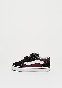 VANS TD Old Skool V (POP) Black/red