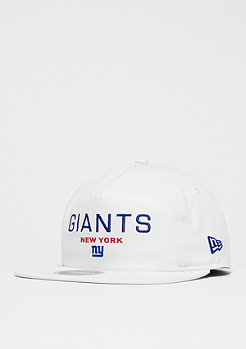 New Era 9Fifty NFL New York Giants Statement offical team colour wht