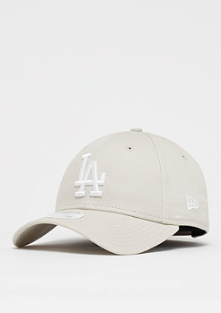 New Era 9Forty MLB Los Angeles Dodgers Essential stone/optic white