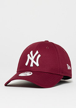 New Era 9Forty MLB New York Yankees Essential cardinal/optic white