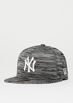 New Era 59Fifty MLB New York Yankees Engineered gry/blk