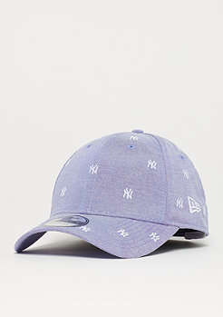 New Era 9Forty MLB New York Yankees Monogram sky/whi