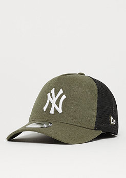 New Era 9Forty MLB New York Yankees Heather Trucker har/whi