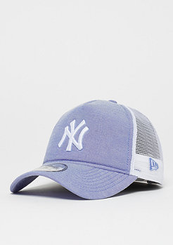 New Era 9Forty MLB New York Yankees Oxford sky blue/optic white