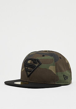 New Era 59Fifty Hero Superman Camo woodland camo/black