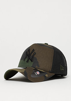 New Era 9Forty MLB New York Yankees Camo Trucker woodland camo