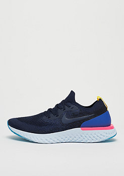 NIKE Epic React Flyknit college navy/college navy/racer blue