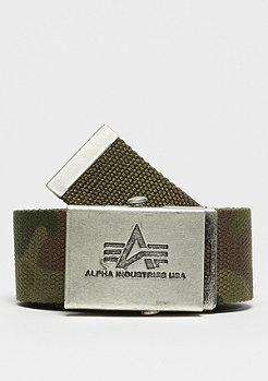 Alpha Industries Heavy Duty woodland camo