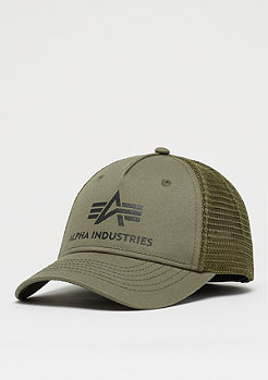 Alpha Industries Basic Trucker dark green