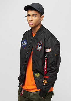 Alpha Industries MA-1 TT Patch II noir