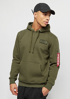 Alpha Industries Red Stripe dark green