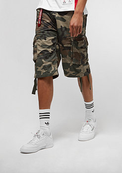 Alpha Industries Jet woodland camo