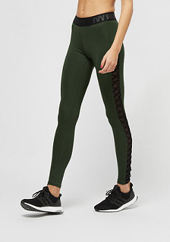 IVY PARK V Mesh Lace Up darg green