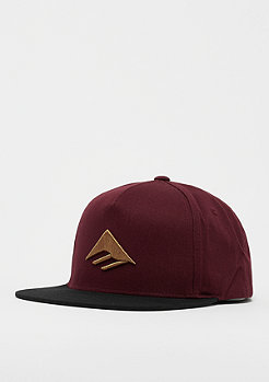 onlineonlyflag Emerica Triangle Oxblood