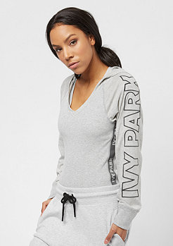 IVY PARK Hooded Rib Body grey marl