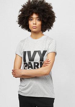 IVY PARK Programme Fitted Logo light grey marl