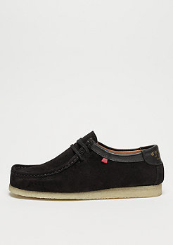 Djinn's Genesis Low Cow Suede black/natural