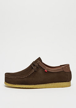 Djinn's Genesis Low Cow Suede dark brown/caramel