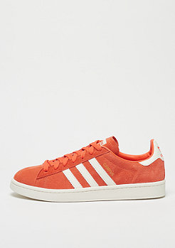 adidas Campus trace orange/off white/chalk white