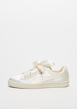 Puma Basket Heart Tween whisper white-gold-white