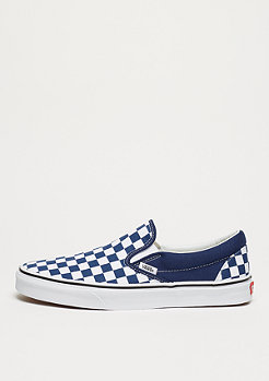 VANS UA Classic Slip-On (Checkerboard) estate blue/true white
