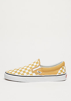 VANS UA Classic Slip-On (Checkerboard) ochre/true white